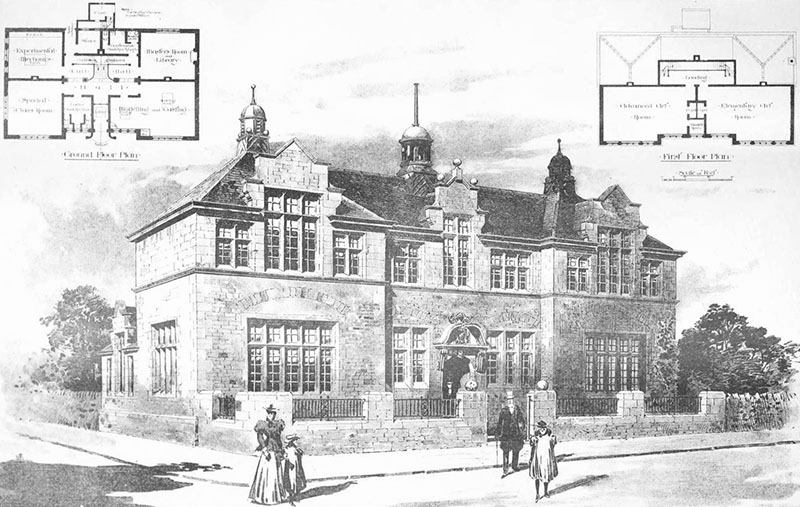 1899 – Second Premiated Design for Science and Art School, Frome, Somerset