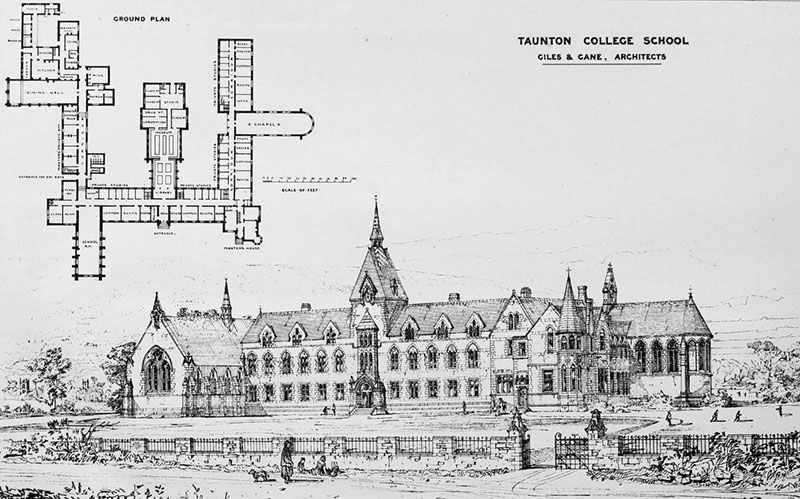 1874 – King's College, Taunton, Somerset