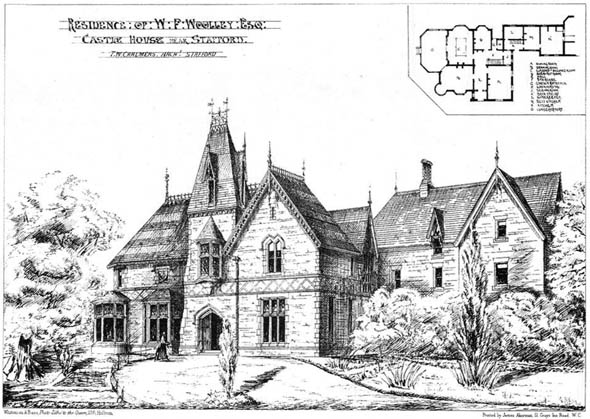 1874 – Castle House, Stafford, Staffordshire