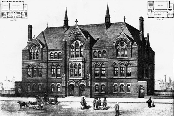 1888 &#8211; Science &#038; Art Institute, Walsall, Staffordshire
