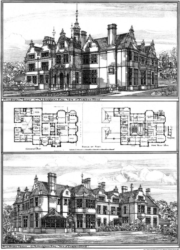 1886 &#8211; Smallwood Manor, Staffordshire