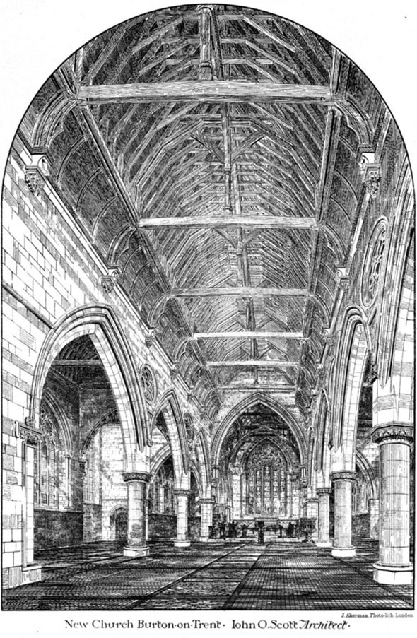 1882 &#8211; Holy Trinity Church, Burton-on-Trent, Staffordshire