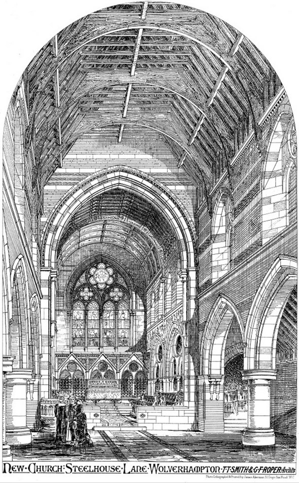 1879 &#8211; All Saints Church, Steelhouse Lane, Wolverhampton