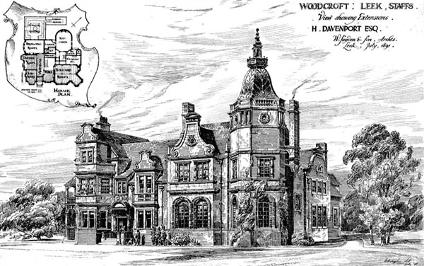 1893 &#8211; &#8220;Woodcroft&#8221;, Leek, Staffordshire