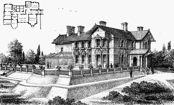 1872 &#8211; Highfield Grove, Stafford, Staffordshire