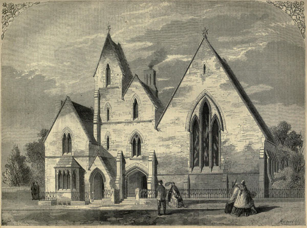 1861 – St. George's School, Newcastle-under-lyme, Staffordshire