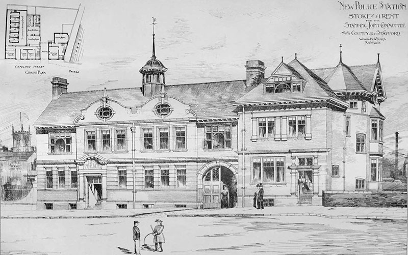 1898 – Police Station, Stoke-on-Trent, Staffordshire