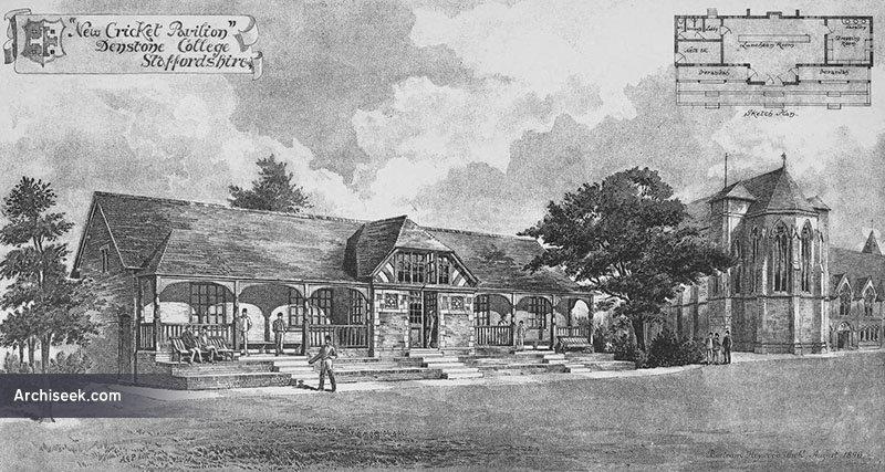 1898 – Cricket Pavilion, Denstone College, Staffordshire