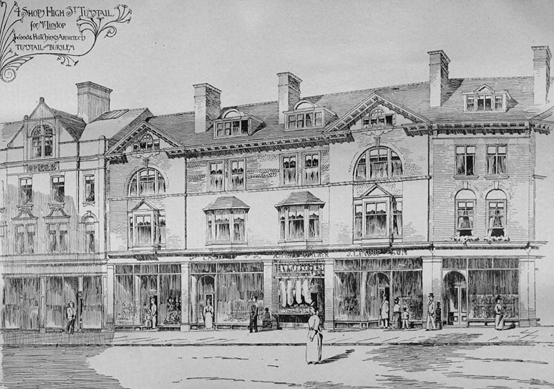 1898 – Shop, Tunstall, Staffordshire
