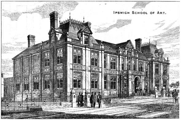1879 – Ipswich School of Art, Suffolk