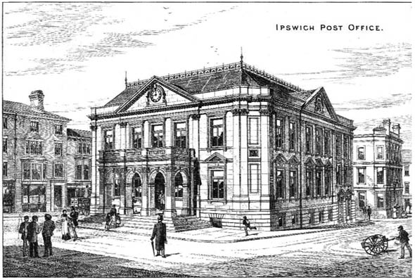 1879 &#8211; Ipswich Post Office, Suffolk