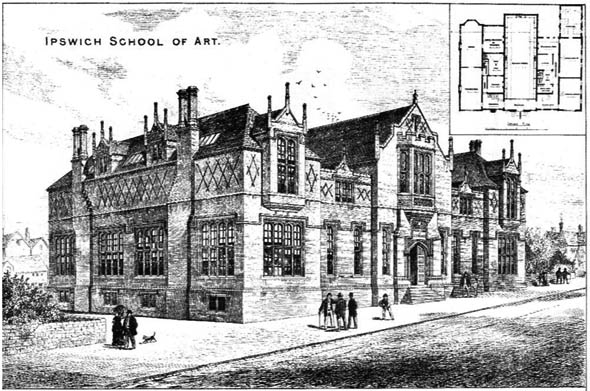 1879 &#8211; Ipswich School of Art, Suffolk