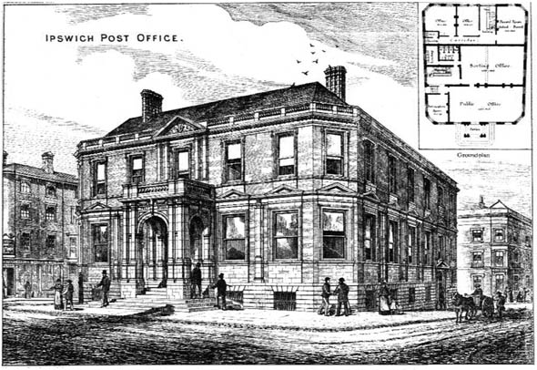 1879 – Ipswich Post Office, Suffolk