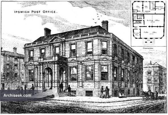 1879 – Ipswich Post Office, Suffolk