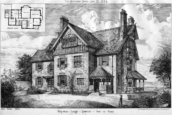 1884 &#8211; Royston Lodge, Ipswich, Suffolk