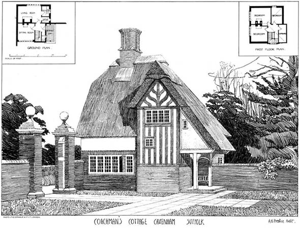 1904 – Coachmans Cottage, Cavenham, Suffolk