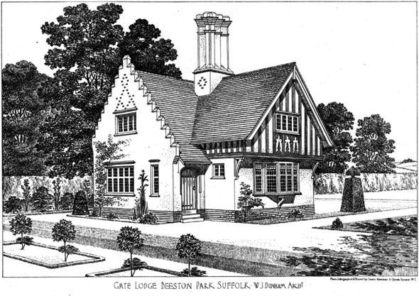 1906 – Gate Lodge, Beeston Park, Suffolk
