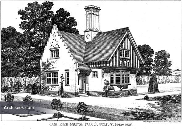 1906 – Gate Lodge, Beeston Park, Suffolk