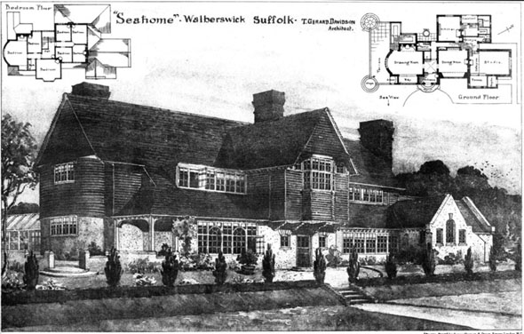 1906 &#8211; &#8220;Seaholme&#8221;, Walberswick, Suffolk
