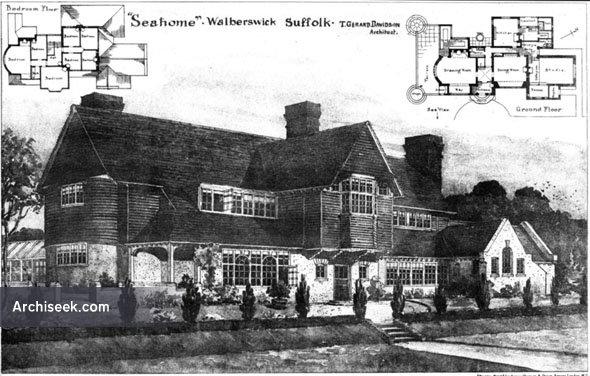 "1906 – ""Seaholme"", Walberswick, Suffolk"