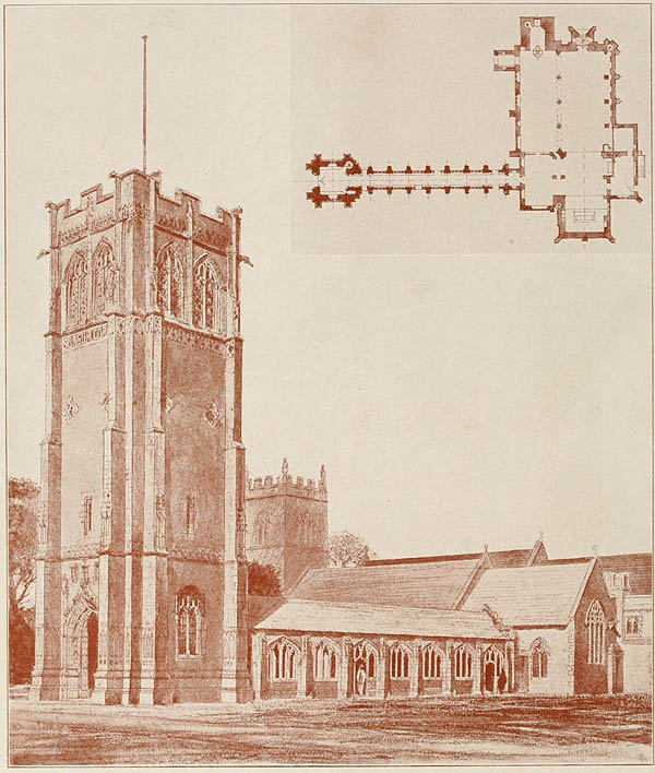 1922 – Memorial Campanile and Cloister, Elveden Church, Suffolk