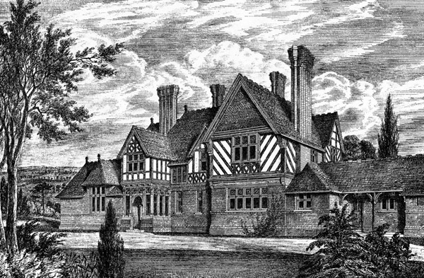 1873 &#8211; House at Virginia Water, Surrey