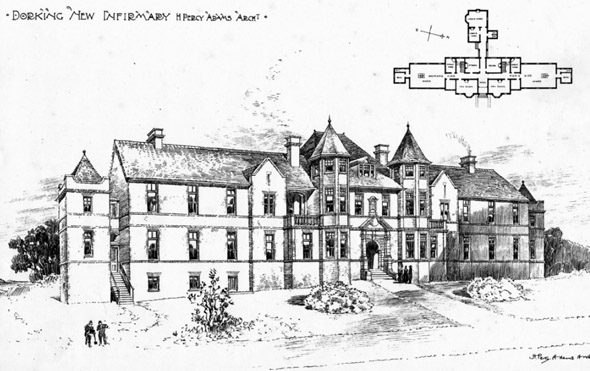 1900 &#8211; Dorking New Infirmary, Surrey