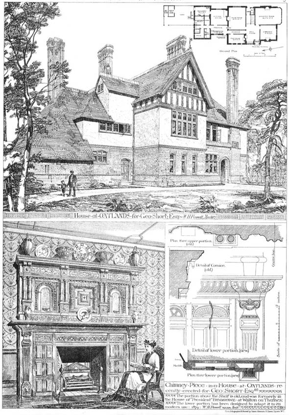 1880 – Oatlands, Weybridge, Surrey
