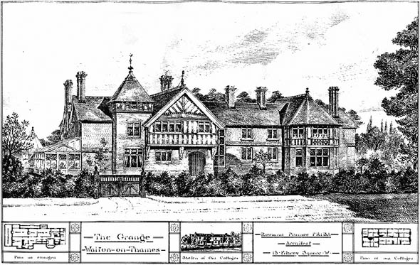 1884 &#8211; The Grange, Walton on Thames, Surrey