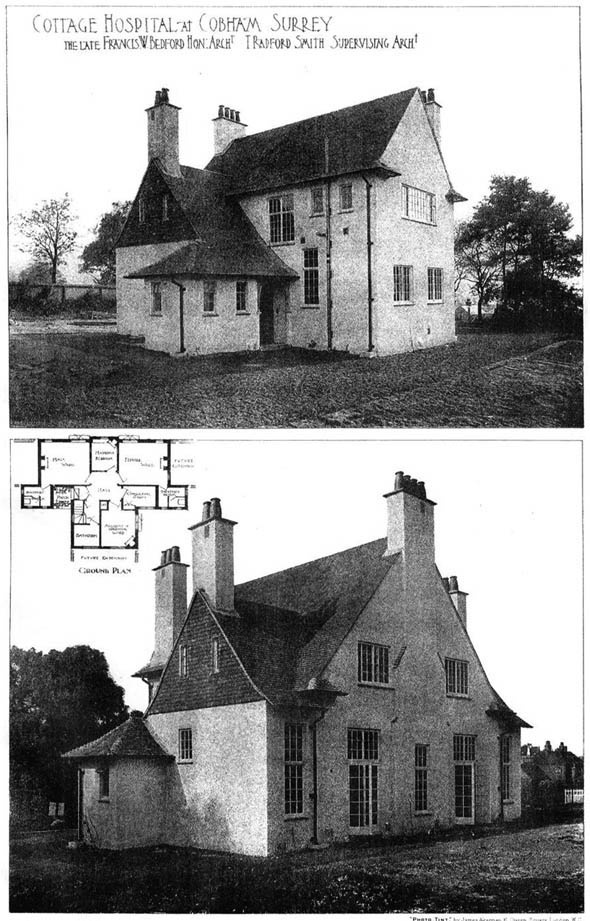 1905 – Cottage Hospital at Cobham, Surrey