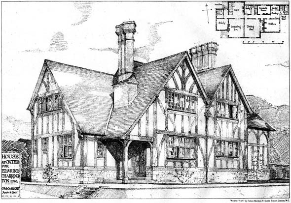 1905 &#8211; House at Oxted, Surrey