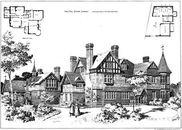 1885 &#8211; The Firs, Epsom, Surrey