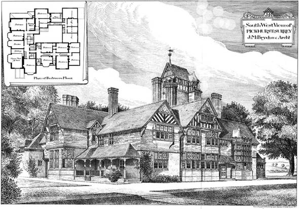 1885 &#8211; Pickhurst, Surrey