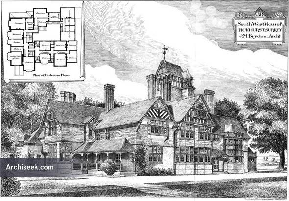 1885 – Pickhurst, Surrey