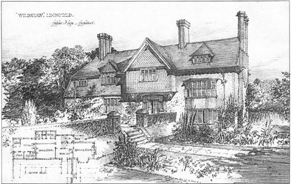 1910 &#8211; &#8216;Wildshaw&#8217;, Limpsfield, Surrey