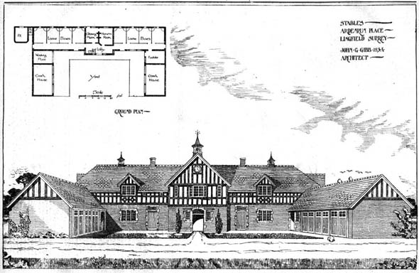 1905 – Stables, Ardenrun Place, Lingfield, Surrey