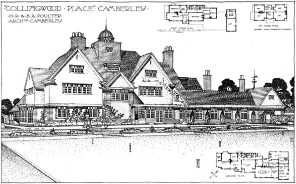 1910 &#8211; Collingwood Place, Camberley, Surrey