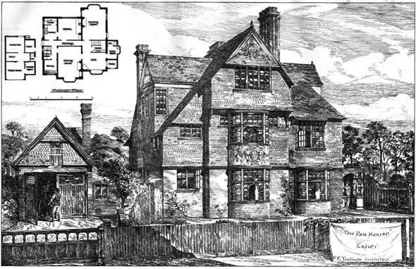 1885 &#8211; The Red House, Esher, Surrey