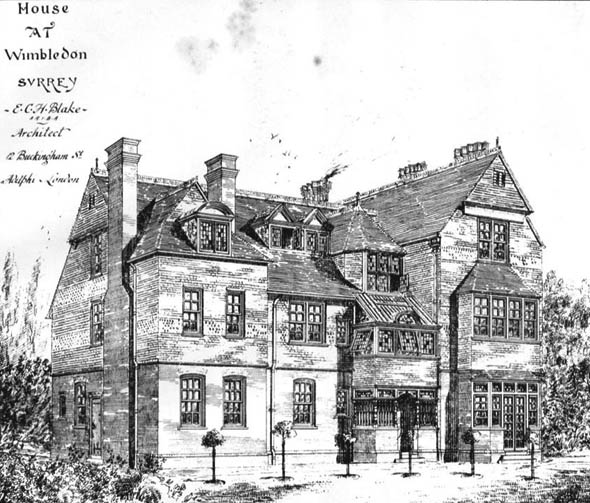 1884 – House at Wimbledon, Surrey