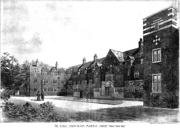 1903 &#8211; King Edward VII Sanatorium, Midhurst, Surrey