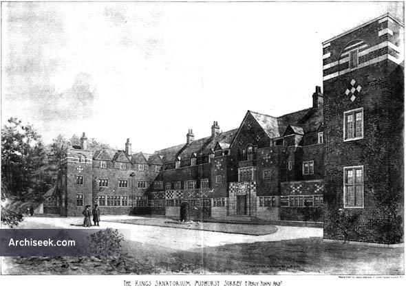 1903 – King Edward VII Sanatorium, Midhurst, Surrey