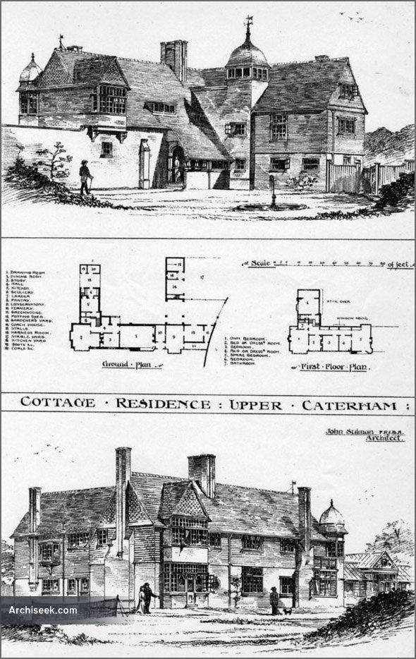 1884 – Cottage Residence, Upper Caterham, Surrey
