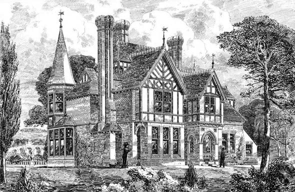 1878 – Residence at Woburn Park, Surrey