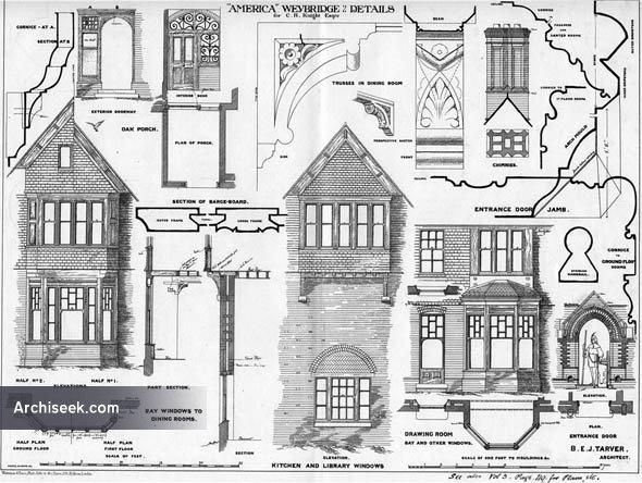 1874 – 'America', Weybridge, Surrey
