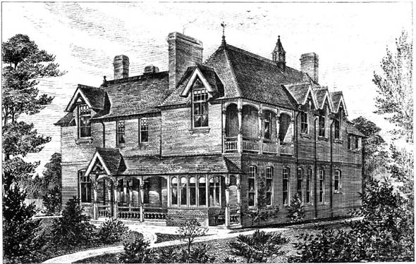 1883 &#8211; Surbiton Cottage Hospital, Surrey