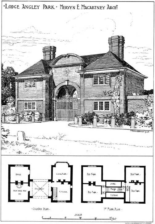 1904 &#8211; Whitewell Lodge, Angley Park, Cranleigh, Surrey