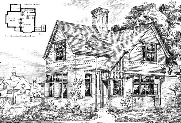 1888 &#8211; Lodge at Oxshott, Surrey