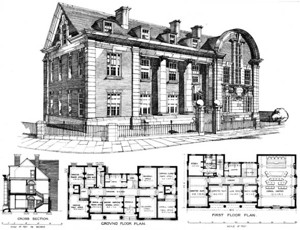 1898 – Surbiton Municipal Building, Surrey