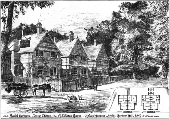1886 – Model Cottages, Long Ditton, Surrey