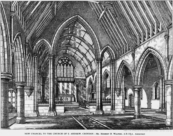 1891 – New Chancel, St. Andrews Church, Croydon, Surrey